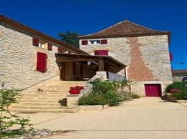 House Les junies - 10 pers, 200 m2, 6/5, Les Junies (рядом с городом Pontcirq)