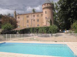 Chateau du Rey, Сент-Андре-де-Майен (рядом с городом La Coste)