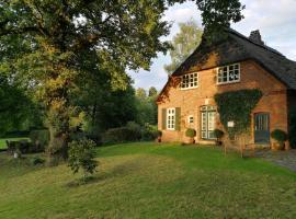 Romantisches Bauernhaus auf großzügigem Grundstück