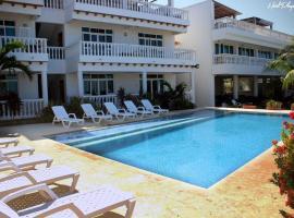 Emblema Beach House Manzanillo, Cartagena de Indias (Manzanillo del Mar yakınında)