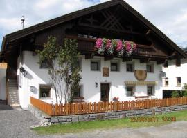 Bauernhaus Auer, Längenfeld (Oberried yakınında)