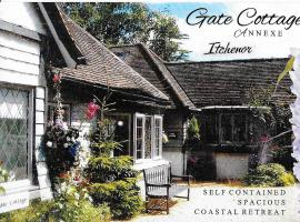The Gate Cottage, Itchenor (рядом с городом Bosham)
