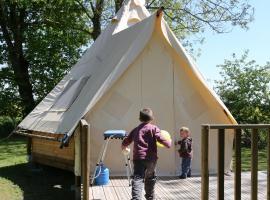 Camping le Nid du Parc, Виллар-ле-Домб (рядом с городом Monthieux)