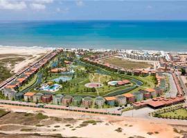 Aquaville Resort , bloco 3 colado no Mar !!!, Mangabeira
