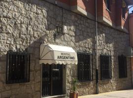 Hostal Argentino, Бехар (рядом с городом Vallejera de Riofrío)