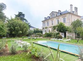 La Maison De Maitre, Фонтене-ле-Комт (рядом с городом Sérigné)