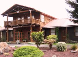 Mountain Heights Lodge, National Park (рядом с городом Вакапапа-Виллидж)