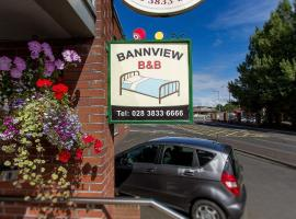 Bannview Bed & Breakfast, Portadown (рядом с городом Seagoe)