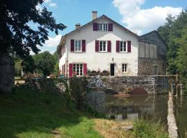 moulin de Richebourg, Saint-Jean-Ligoure (рядом с городом Le Vigen)