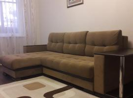Apartment on Kolasa 42, Navapolatsk (Gamzelëvo yakınında)