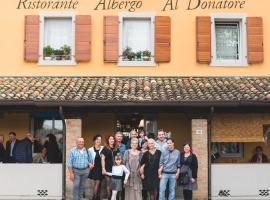 Ristorante Albergo Al Donatore, Teòr (Rivignano yakınında)