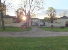 Au Domaine de Choisy, Abzac (рядом с городом Sablons)