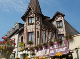 Hôtel le Dauphin, Sées (рядом с городом Trémont)
