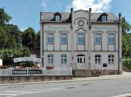 Pension Zur Wartburg, Olbernhau (Brandov yakınında)