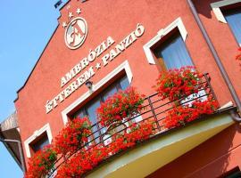 Ambrózia Étterem és Panzió, Казинцбарцика (рядом с городом Sajógalgóc)