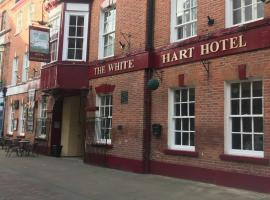 The White Hart Hotel, Gainsborough (рядом с городом Upton)