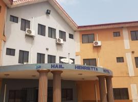 Hail Henrietta Hotel, Ibadan (Near Ona-Ara)