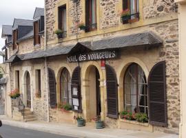 Hotel des Voyageurs, Payzac (рядом с городом Saint-Cyr-les-Champagnes)