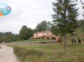 Robinson house in Nature Park, Lupoglav