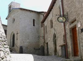 Locanda Il Falco Nero, Fumone (Ferentino yakınında)