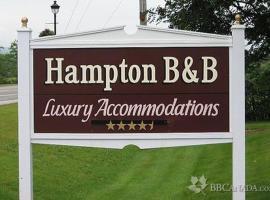 Hampton Bed and Breakfast, Hampton (Regiooni Poley Mountain lähedal)