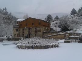 Apartamento Rural Molí de Fòrnols, Fornols (рядом с городом Montargull de la Vansa)