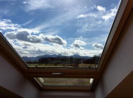 Ferienwohnung Bergblick, Bad Aibling (Kolbermoor yakınında)