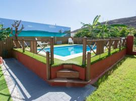 Family House & Private Pool, Пуэртито-де-Гуимар (рядом с городом Пахара)