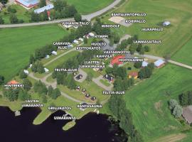Tastulan Lomakylä, Kaustinen (рядом с городом Kainu)
