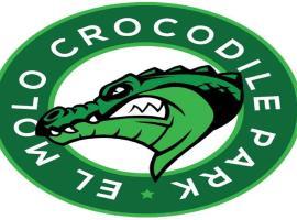 Elmolo Crocodile Park and Lodge, Kadimu