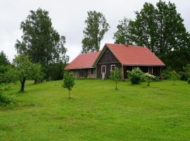 Kullipera Holiday House in Haanja, Haanja (Kündja yakınında)