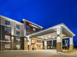 Best Western Plus Lacombe Inn and Suites, Lacombe (Ponoka yakınında)