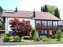 Ferienwohnung Janko, Meßstetten (Schwenningen yakınında)