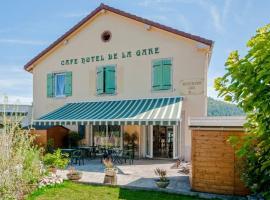 Café Hôtel de la Gare, Champagnole (рядом с городом Crotenay)
