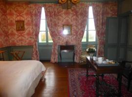 Chambres d'Hôtes de Manoir de Captot, Canteleu (рядом с городом Saint-Martin-de-Boscherville)