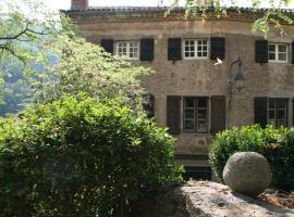 La Grande Maison, Chanteuges (рядом с городом Saint-Bérain)