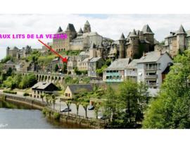 aux lits de la vézere, Юзерш (рядом с городом Condat-sur-Ganaveix)