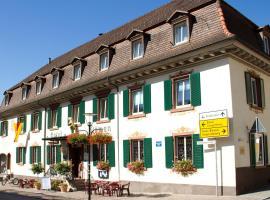Hotel Restaurant Löwen, Zell im Wiesental (Adelsberg yakınında)