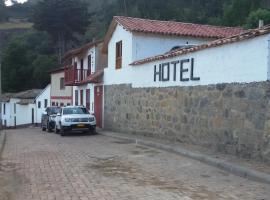 Hotel Posada El Viejo Oticon, Socotá (Susacón yakınında)