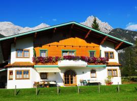 Ferienwohnung Simair, Sankt Ulrich am Pillersee (Schwendt yakınında)