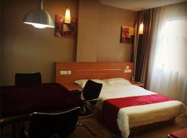 Thank Inn Chain Hotel Guangdong Shenzhen Baoan International Airport, Bao'an (Huangtian yakınında)