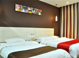 Thank Inn Chain Hotel Pingyi Nanhuan Road, Pingyi (Taozhuang yakınında)