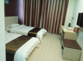 Thank Inn Chain Hotel Shanxi Yuncheng Jiang County Wengong Road, Weizhuang (Xincheng yakınında)