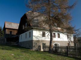 Hütte Leyreralm, Obdach (Mönchegg yakınında)