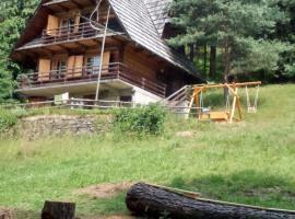 Stanleyówka, Domek w Gorcach