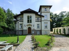 Spa Resort Libverda - Villa Friedland, Lázně Libverda (Raspenava yakınında)