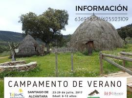 El Bur Aco, Santiago de Alcantara