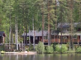 Rock and Lake - Villas & Cottages, Harjunmaa (рядом с городом Läsäkoski)