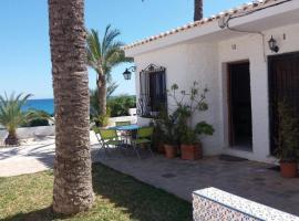 Casa al borde del mar, El Campello (Carrer del Mar yakınında)