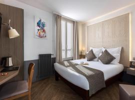 Contact Hôtel Alizé Montmartre